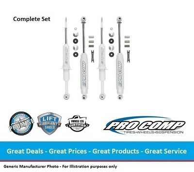 """0-3.0/"""" FRONT//REAR 4WD Pro Comp ES9000 Series Nitro Shocks for 94-01 RAM 1500"""