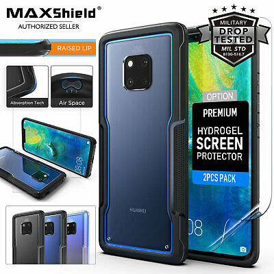 Huawei Mate20 Pro Case Cover, Heavy Duty Shockproof Slim Clear Protection Case
