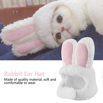 Pet Dog Cat Hat Cute Funny Rabbit Ear Hat Costume Cosplay Accessories