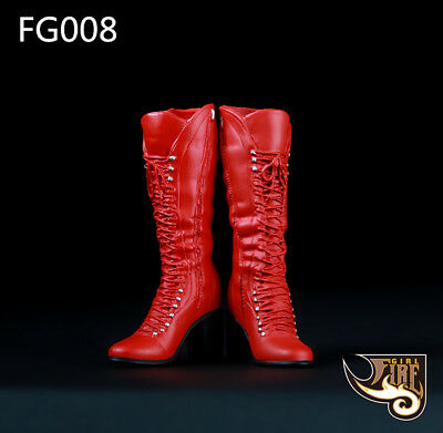 """Fire Girl Toys 1//6 FG022 Female Combat Boots AB Models With Boot Feet For 12/"""""""