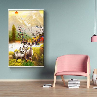 Large Canvas Huge Modern Home Wall Decor Art Oil Painting Picture Print Un cby