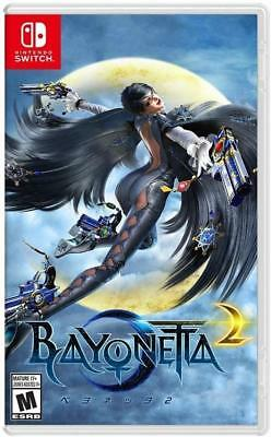 Bayonetta 2 Nintendo Switch Game ONLY Bayonetta 1 Code not included