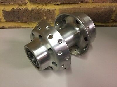 "Genuine Harley-Davidson Front Wheel HUB 40 Holes Polished 1"" Axle 43701-07"