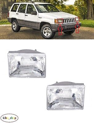 R LHD FOR JEEP GRAND CHEROKEE WJ 2002-2004 NEW REAR TAIL LIGHT LAMPS PAIR L