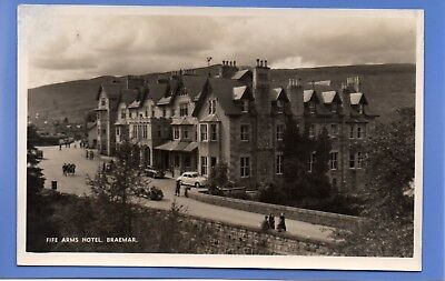 Old Vintage Rp Postcard Fife Arms Hotel Braemar Aberdeenshire