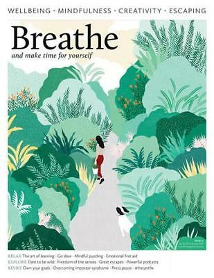Breathe Magazine Issue 11 2018, Wellbeing, Mindfulness, Creativity, Escaping New