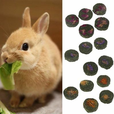 5pcs Small Pets Teeth Grinding Cake Cookie Hamster Rabbit Chinchilla Chew Toy