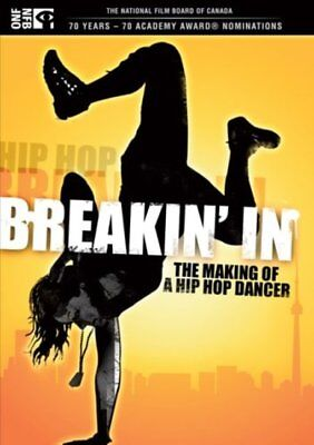 Breakin' In: The Making of a Hip Hop Dancer NEW DVD