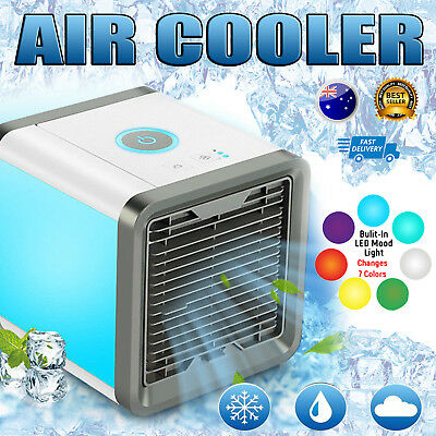 2019 Arctic Air Personal Cooler Humidifier Porable Fans Home Office Travel Y6