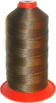 Amann Serafil Thread, Mid Brown, 16, 1500M Polyester Sewing Thread, Art 2233