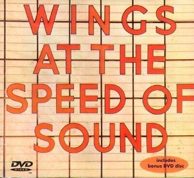 """PAUL MCCARTNEY Wings at the Speed of Sound CD + DVD  """"ROCKSHOW""""[brand new]"""