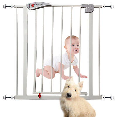 Baby Pet Safety Gate Dog Barrier Home Doorway Stair Safe Secure Guard 70 x 76 cm