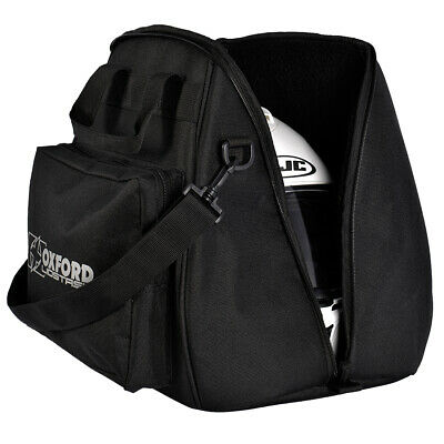 Oxford Lidstash Open or Full Face Motorcycle Motorbike Helmet Bag Helmet Carrier