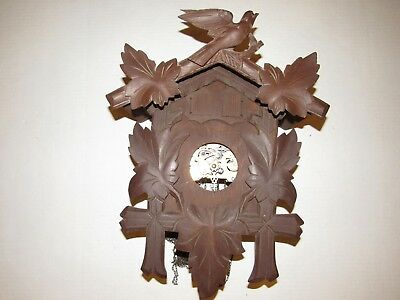 Large Black Forest Musical Cuckoo Clock for Parts/Project