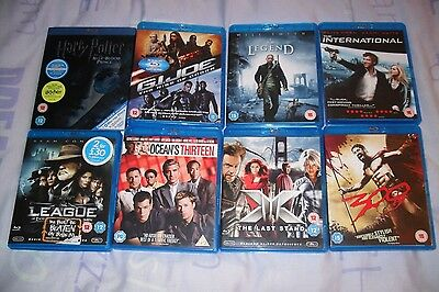 Bundle Of Blu Ray Films,all Cased And All In Exc Condition #1