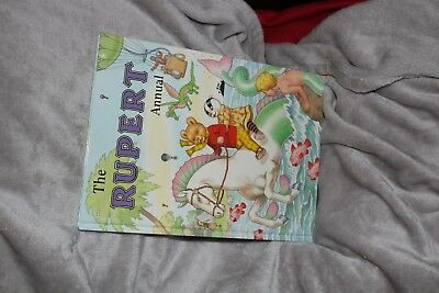Signed 2001 Rupert Annual Mint Condition