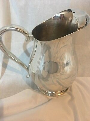 Newport Silver Plate Water Pitcher