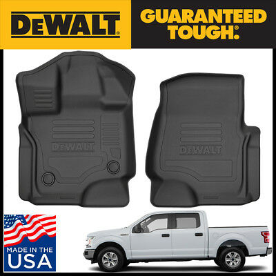 d2a6a9d67b5c2 HUSKY LINERS BLACK Front Floor Liners For 15 - 17 Ford F150 ...