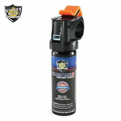 6 Pack Lab Certified Streetwise 18 Pepper Spray 3 oz FIRE MASTER - Self-Defense