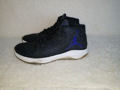 152143f6782e0f Nike Mens Jordan ULTRA FLY Basketball Shoes Black Concord Blue 834268-001  Sz 10
