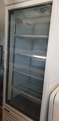 Commercial Upright freezer, Austune 650 litre, as new condition