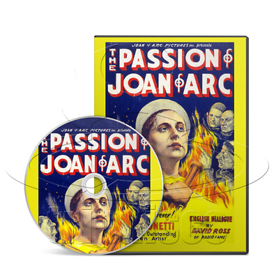 The Passion of Joan of Arc (1928) Biography, Drama, History Movie / Film on DVD