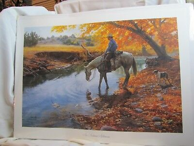 "Tim Cox ""An Autumn Afternoon"" Signed Limited Edition Print"