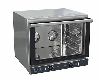 NERONE COMMERCIAL CONVECTION OVEN 4 x GN Capacity NEW