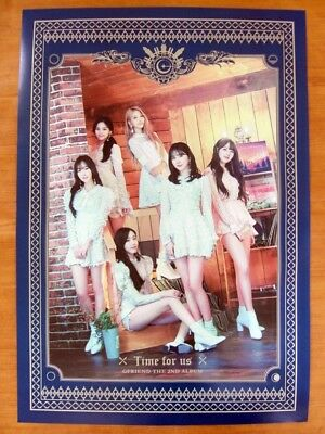 GFRIEND -  Time for Us (Limited Edition) [OFFICIAL] POSTER *NEW* K-POP G-FRIEND