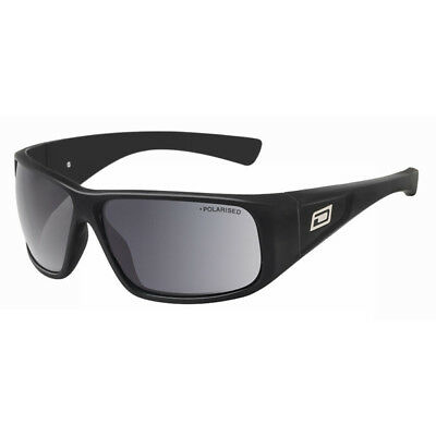 Dirty Dog Ultra Polarised Sunglasses - Black/Grey SAVE 60% OFF RRP