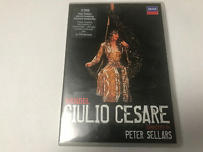 Handel Giulio Cesare  directed by Peter Sellars.    2 Disc DVD set and booklet