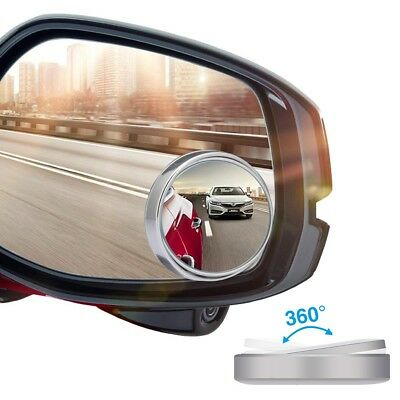 28 Inches Racing 4-Panel Wide-Angle Rear View Wink Mirror