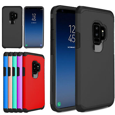 For Samsung Galaxy Note 10 S9 Plus Shockproof Hybrid Armor Slim Phone Case Cover