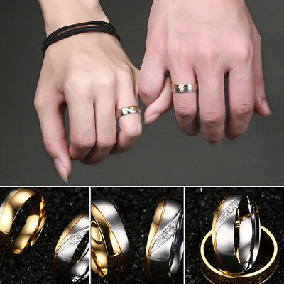 Men Women Fashion Party Jewelry Wedding Finger Rings Alloy Ring Engagement