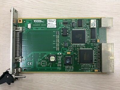 A Pair of National Instruments NI PXI-6533 32-Bit Digital/Pattern IO for PXI