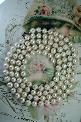 Antique Vintage Jewellery Pearl Necklace Jewelry