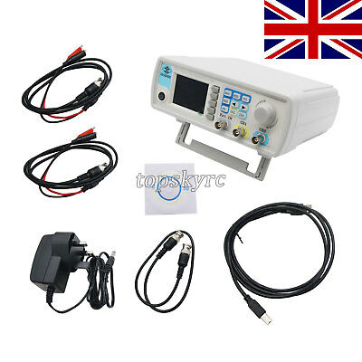 15M 2 Channel Waveform Signal Generator Pulse Signal Source Frequency Meter tsUK