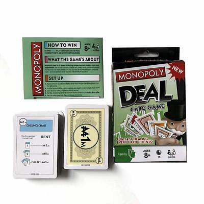 108 Cards Funskool Monopoly Deal Card Game Board Game Travel Class Family Party