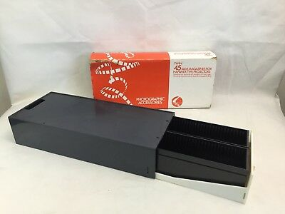 Twin 45 Slide Magazines For Hanimex Type Projectors - Han-o-matic - 35mm