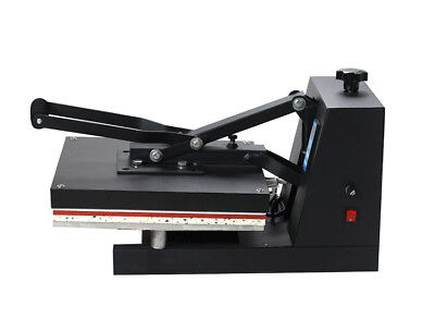 "15""X15"" DIY Digital Clamshell T-shirt Heat Press Machine Sublimation Transfer"