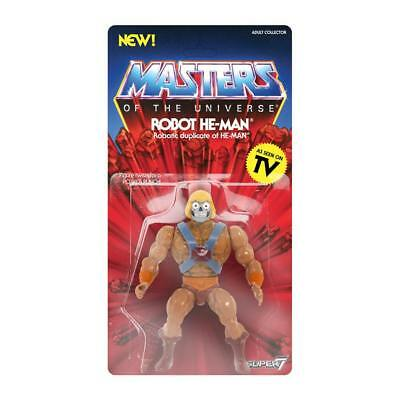 PREORDER Masters of the Universe Vintage Collection Action Figure Robot He-Man
