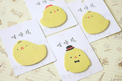 Little Chick cartoon sticky notes kawaii cute chicken diary message note pads