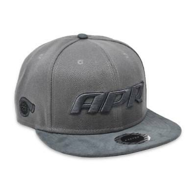 "Original APR Motorsport Snapback ""GREY-Logo"" #APRCAP004"