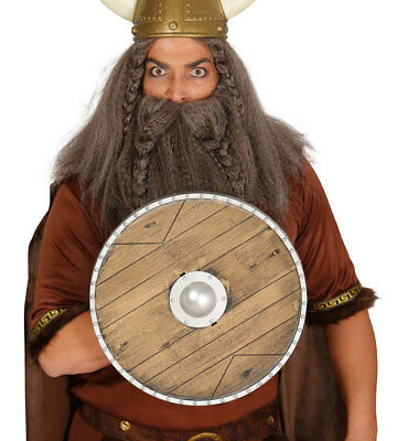 Viking Shield Fancy Dress Costume Plastic Prop Boys Kids Adult 40CM NEW