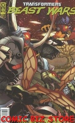 Transformers Beast Wars: The Ascending #3A (2007) 1St Print Bagged & Boarded Idw