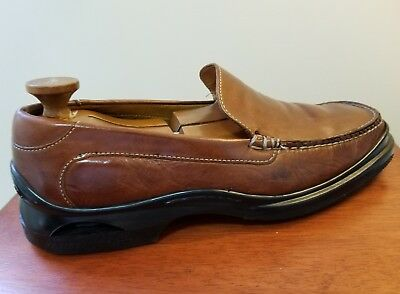 1633bde5cd6 Cole Haan 07184 Air Santa Barbara Stitched Casual Moc Loafers Men s US 10M