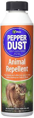 VITAX Pepper Dust Animal Repellent 225g - Deters Cats & Dogs from Fouling