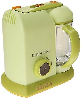 BEABA Babycook Pro 4 in 1 Steam Cooker Blender in Sorbet New Open Box (Sku 2000)