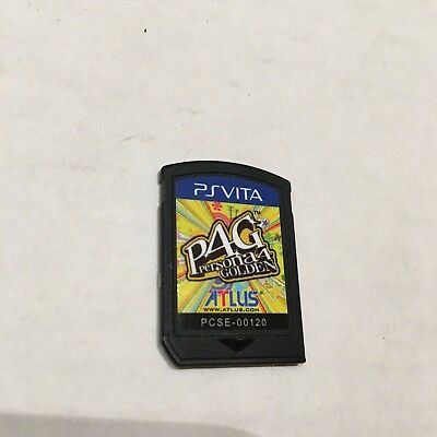 Persona 4: Golden  Sony Playstation PS Vita Game, Cartridge only!