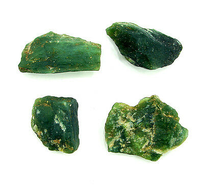 250.00 Ct Natural Serpentine Loose Gemstone Rough Specimen Lot of 4 pcs - 4577